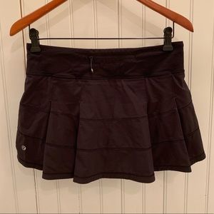 lululemon athletica Skirts - Lululemon Pace Rival Skirt 6 Black